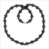 泗滨砭石项链 大小珠公主款